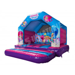 Ajl Bouncy Castle Shimmer Et Shine