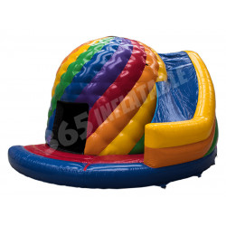 Disco Bouncy Castle Avec Glisser