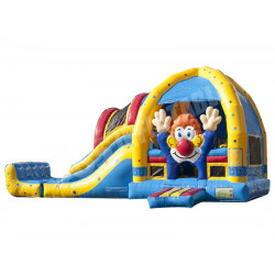 Clown Bounce House Avec Toboggan