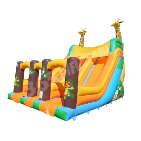 Plate Forme 13 Pieds Double Toboggan Girafe