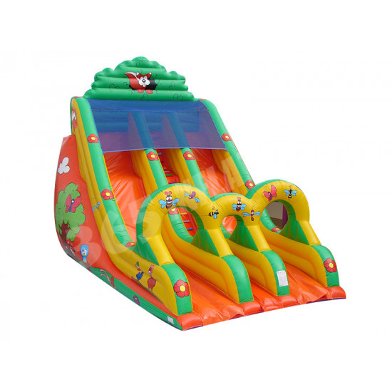 Double A Bosse Toboggan Gonflable