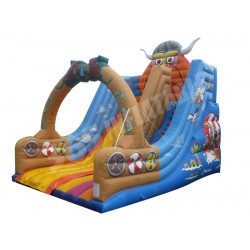 Toboggan Gonflable Viking