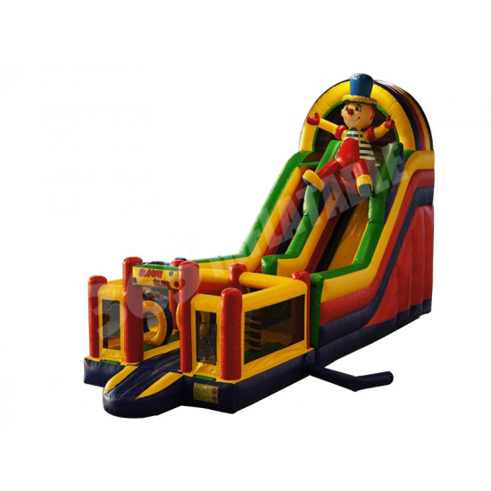 Toboggan Gonflable Multiplay Clown