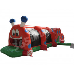 Course Obstacles Caterpillar Gonflable
