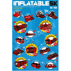 Course Obstacle Gonflable 5k