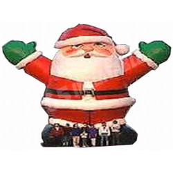 Pere Noel Gonflable