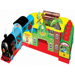 Fun Train Station Junior Bounce House