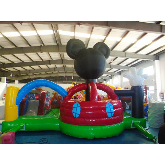 Chateau Gonflable Pour Tout Petits Mickey Mouse